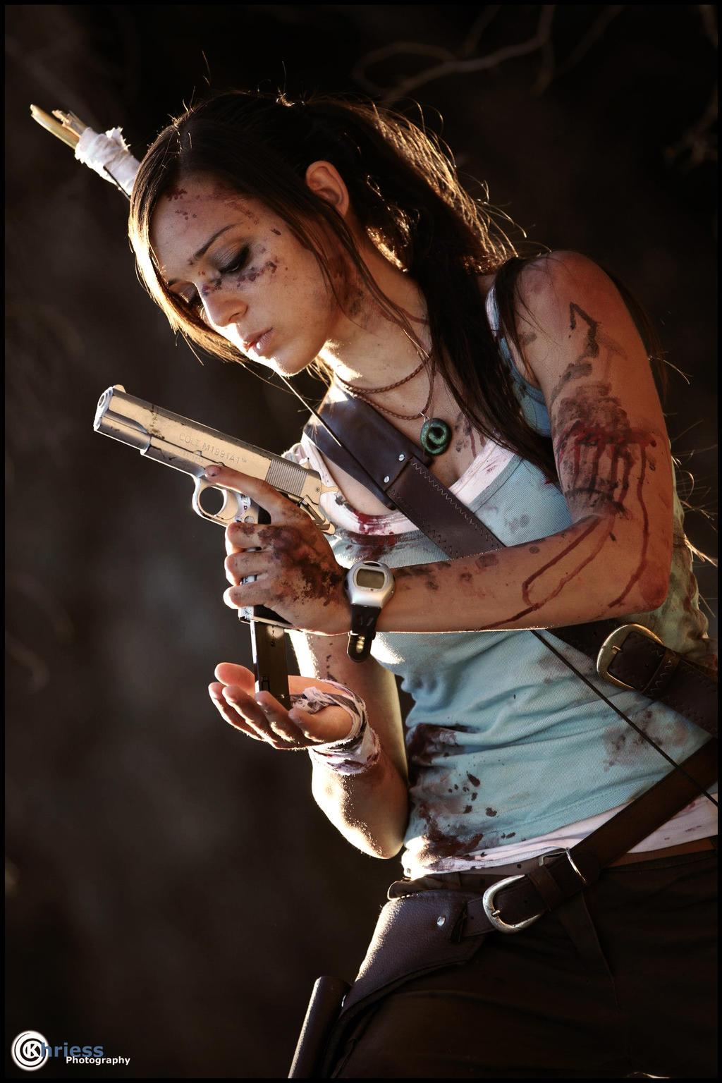 Lara Croft by Khriess