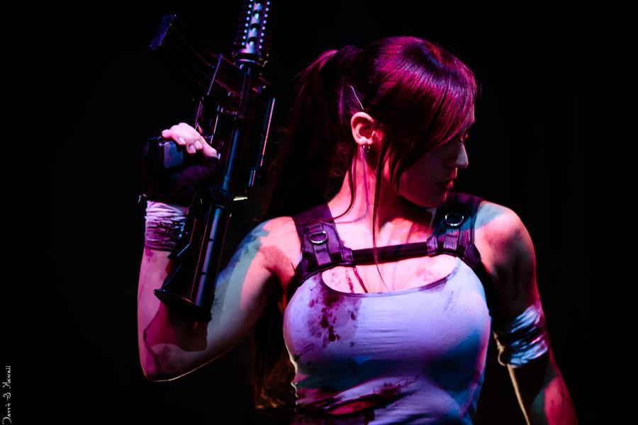 Lara Croft by illyne
