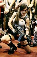 Lara Croft Paris Games Week by illyne