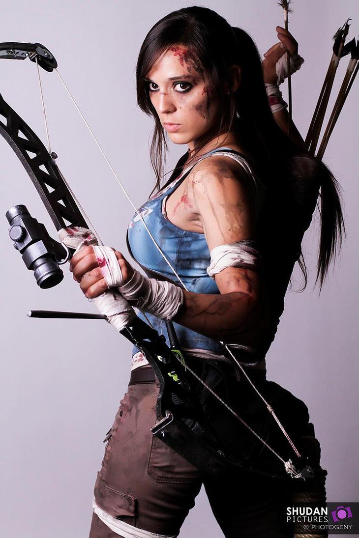 Lara Croft Tomb Raider Reborn ( japan Expo 3013 ) by illyne