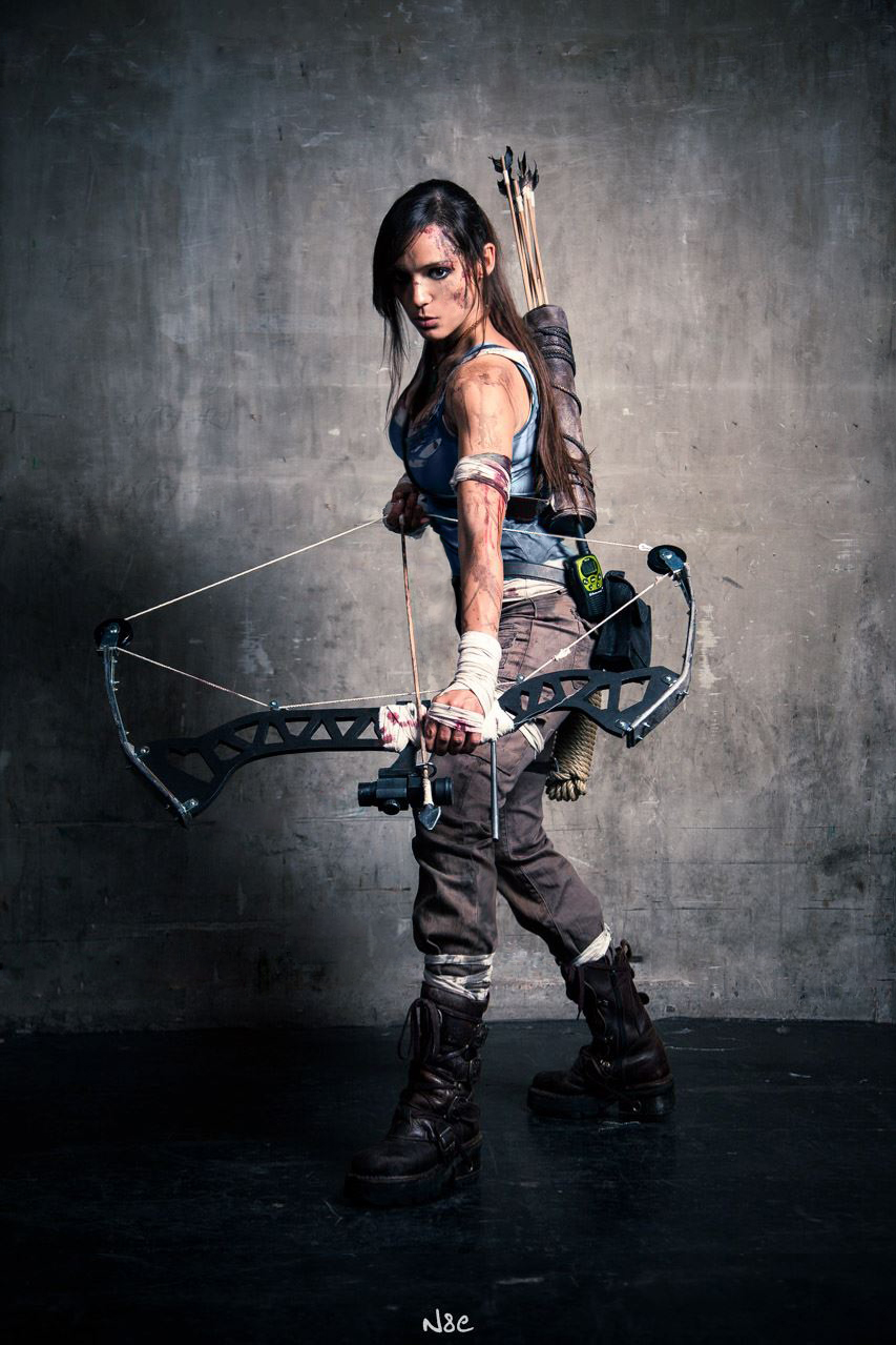 Lara Croft Tomb Raider Reborn ( japan Expo 2013 ) by illyne on DeviantArt