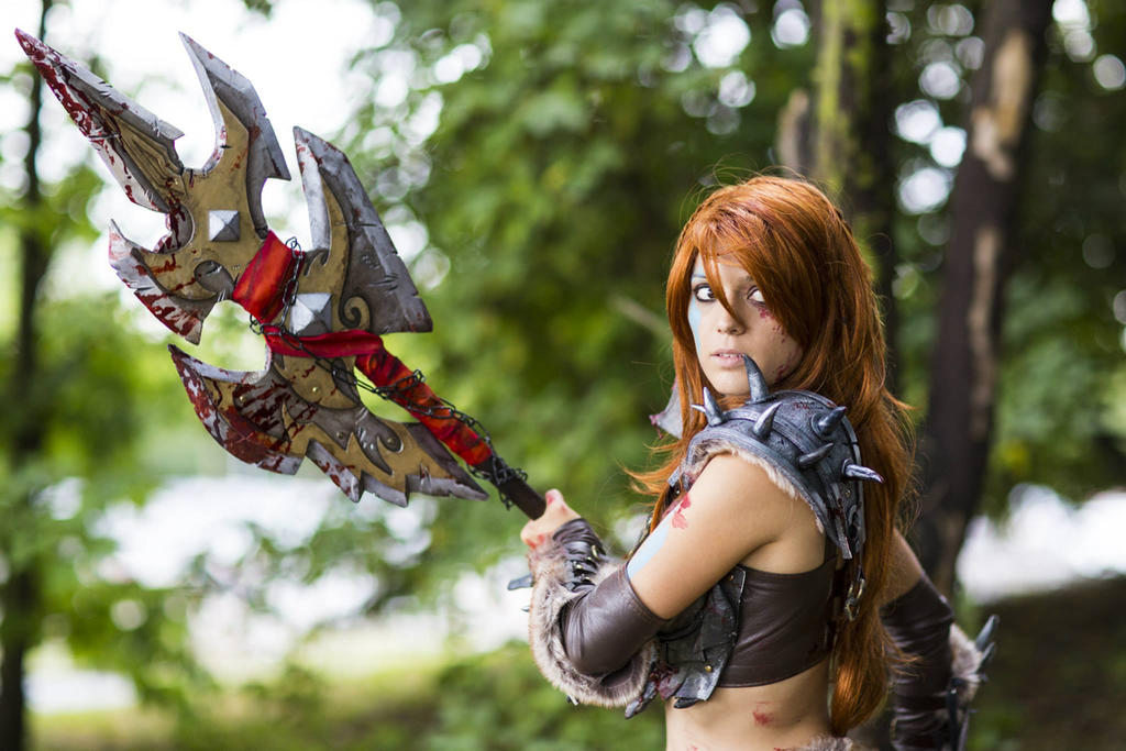 Diablo 3 Barbarian by illyne