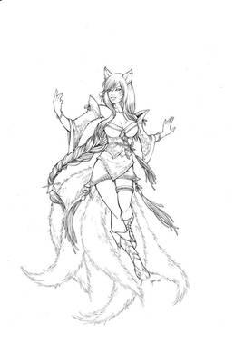 Ahri ( League of legend)