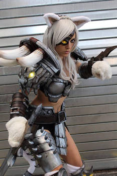 Rengar Cosplay by illyne