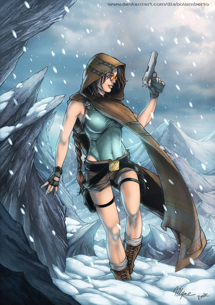 Tomb Raider 1 tribute by illyne