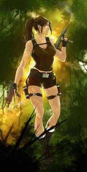 Lara Croft . Tomb Raider Underworld
