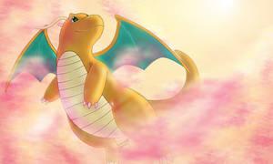 dragonite by SadowWolfKACT