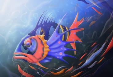 Fish or Dish? by BramRomkes