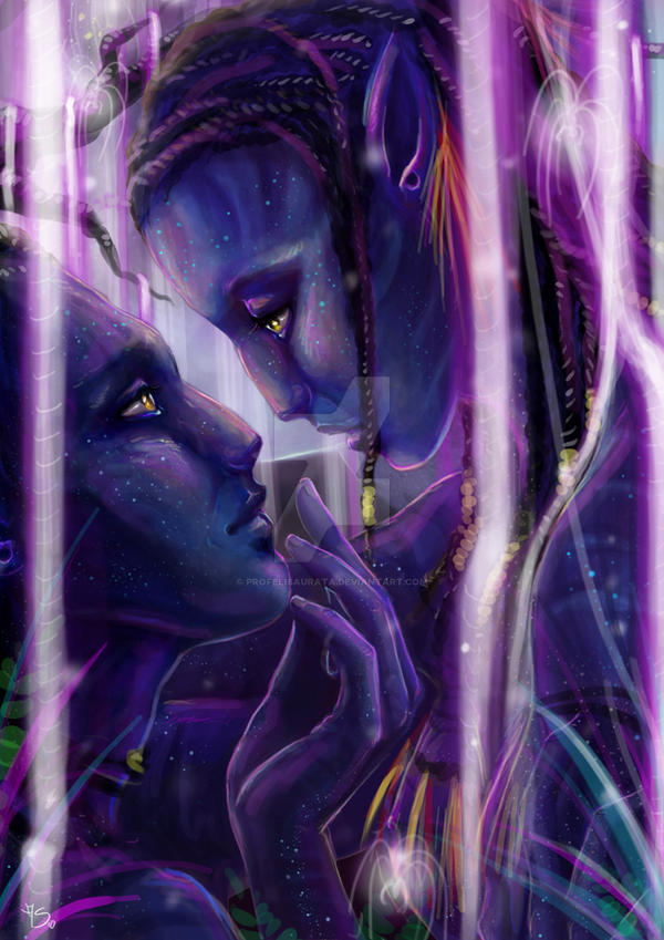 Neytiri and Jake - Avatar by ProfelisAurata