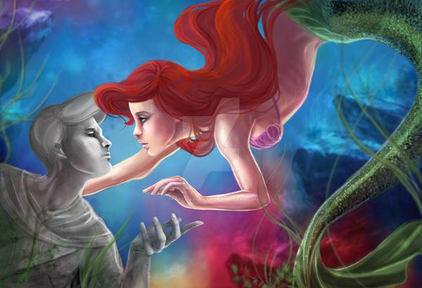 Disney's Ariel by ProfelisAurata
