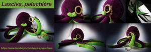 Sir Octopus (handmade plush) by Peluchiere
