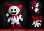Santa Claus Jack Frost handmade plush