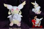 Mega-Audino custom plush by Peluchiere