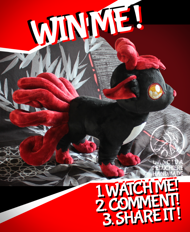 GIVE-AWAY Nightmare Vulpix by Peluchiere