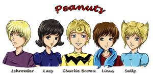 Peanuts Charlie Brown Gang