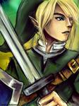 Link Legend of Zelda - SSBB -