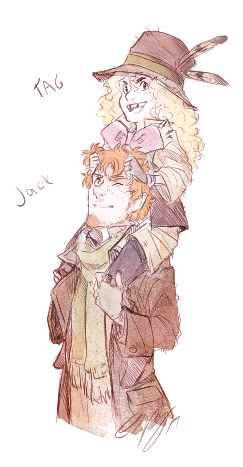 Tistow - Tag and Jack by ElliPuukangas