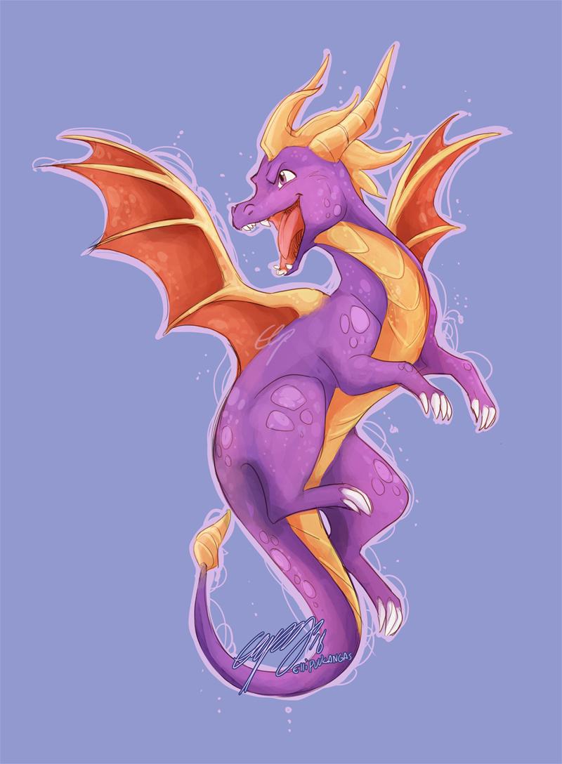 Spyro by ElliPuukangas
