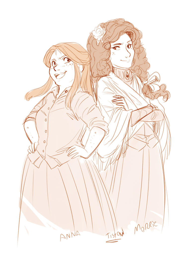 Anna and Morrie by ElliPuukangas
