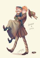 Georgie and Jack by ElliPuukangas