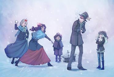 Tistow: Happy Winter by ElliPuukangas