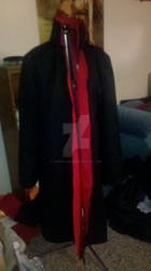 Akatsuki Cloak Collar (cosplay)