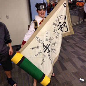 Tenten Cosplay Scroll Ohayocon 2013