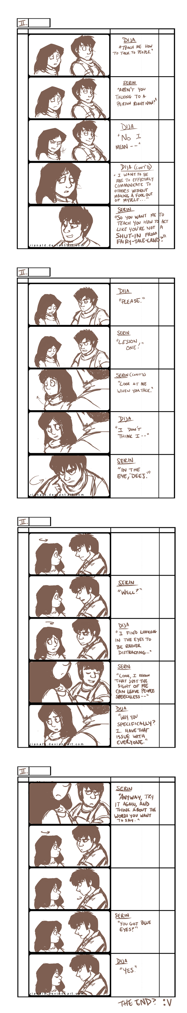 SCOW: practice storyboard by RianaLD