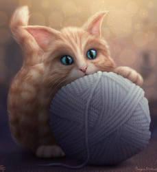 Kitten by free4fireYouTube