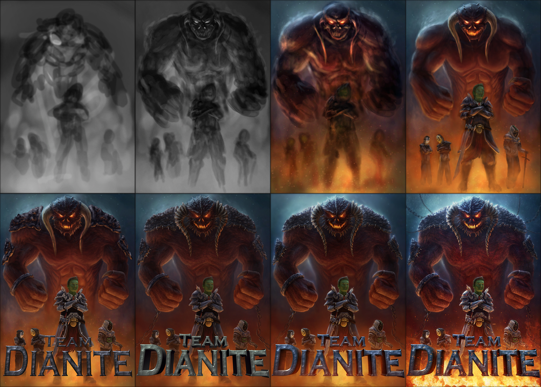 Step by Step Team Dianite by free4fireYouTube