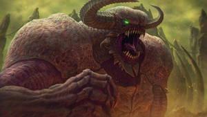 DOOM Baron of Hell [fanart] by free4fireYouTube