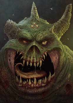 Warhammer 40K Great Unclean One Fanart