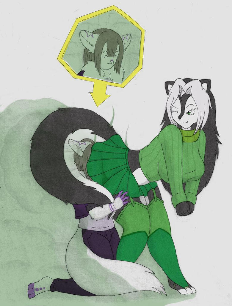 Narumi's gassy prank by coaster14