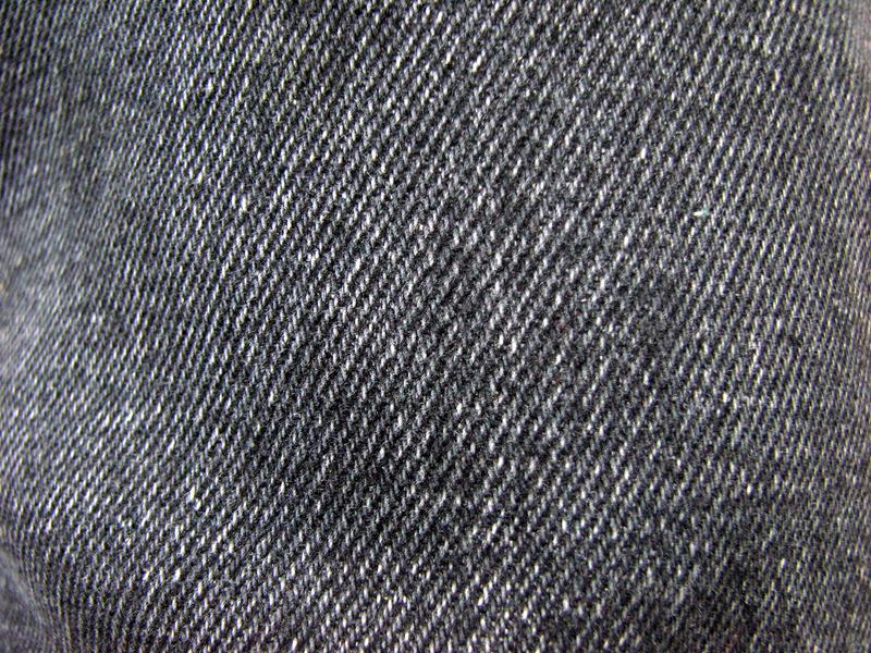 Black Jean Cloth Texture
