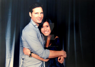 Me and Peter Facinelli by LoveBurnsHigh