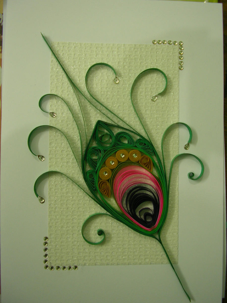 Quilling Greeting Card Paper Quilled Daisy Flowers Vintage Purple Hd ...