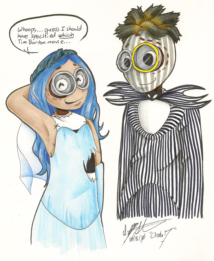 9 wrong tim burton movie by nerostreet