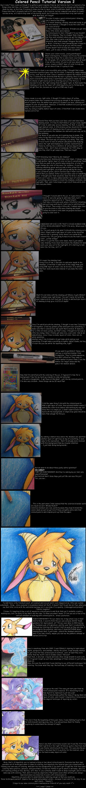 Colored Pencil Tutorial v2 by NeroStreet
