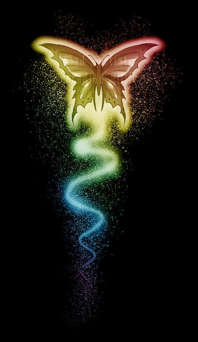 hd rainbow butterfly wallpaper - photo #42