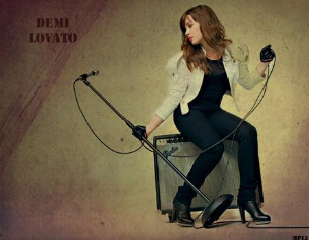 Demi Lovato by MartyPunk13