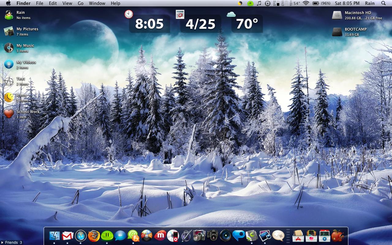 Mac Osx Destop Screenshot 5 By Blissbot