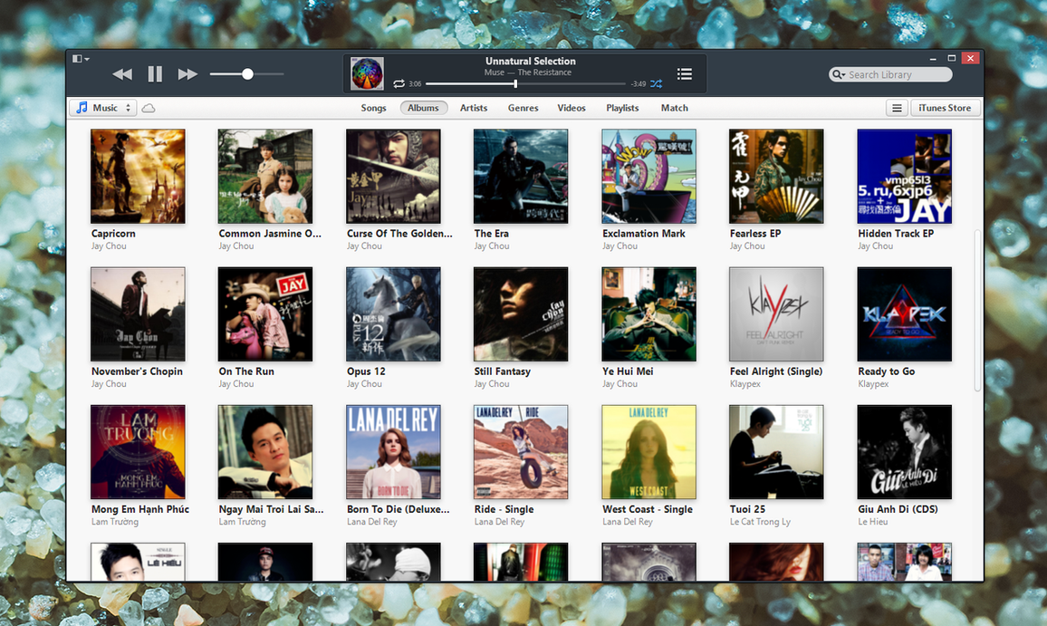 Ceti iTunes by BluPaper
