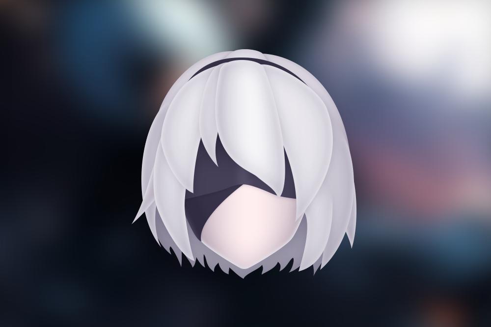 2B - Nier Automata by BluPaper
