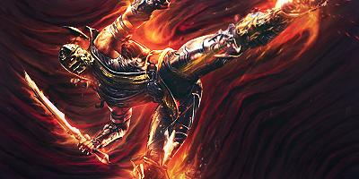 Scorpion Tag (Mortal Kombat) by NigglezNGigglez