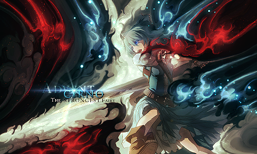 Advent Cirno, 'Strongest' Smudge Tag (Touhou) by NigglezNGigglez