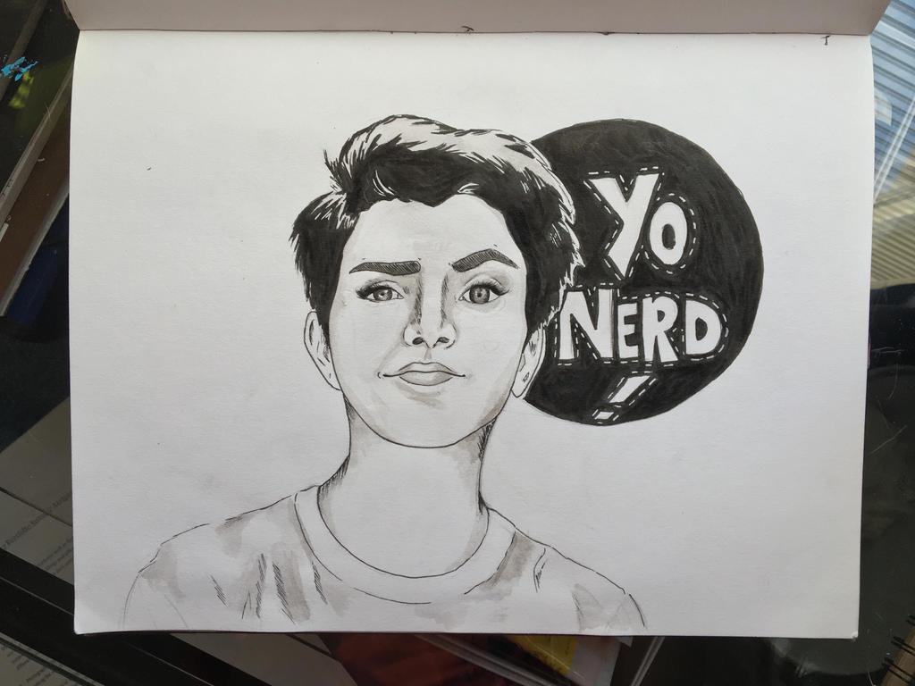 Hey Nerd  by FolieASkye