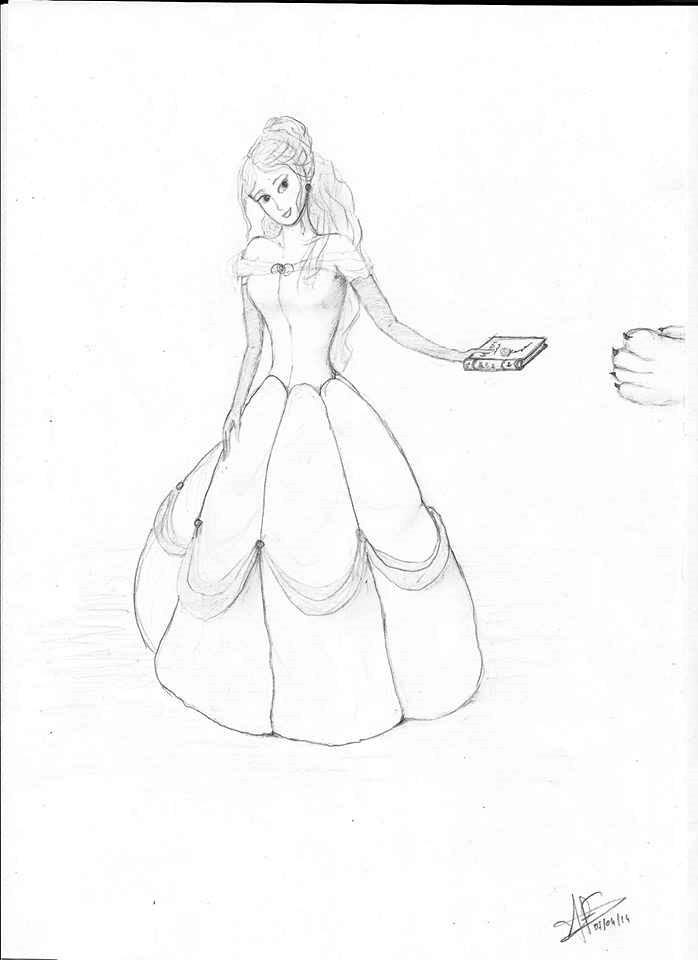 Belle by Elfigre