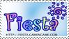 Fiesta Fan Stamp by PlayfulDead