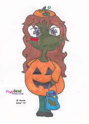 ZombDoodlez Trick R Treat Pumpkin