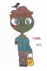 ZombDoodlez Trick R Treat Scarecrow